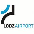 Logo lotniska w Łodzi